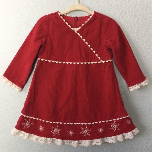 b55e932b05672 Hanna Andersson Dresses | Corduroy Lace Christmas Dress | Poshmark